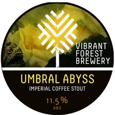 Vibrant Forest Umbral Abyss Imperial Coffee Stout 330ml (11.5%)