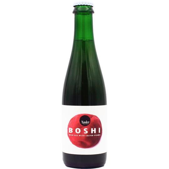 Yonder Brewing Boshi Wild Ale Brewed With Salted Plums 375ml (4.3%)