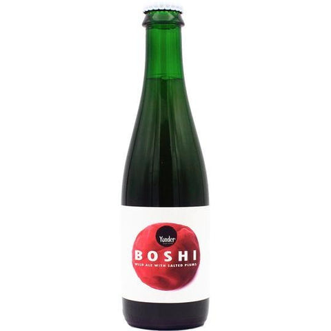 Yonder Brewing Boshi Wild Ale Brewed With Salted Plums 375ml (4.3%) - indiebeer