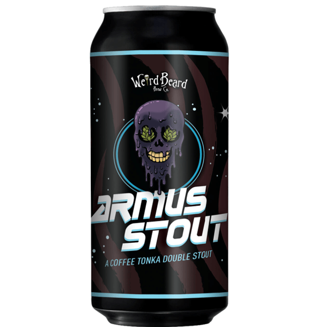 Weird Beard Armus Coffee Tonka Double Stout 440ml (8.5%)