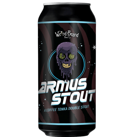 Weird Beard Armus Coffee Tonka Double Stout 440ml (8.5%) - indiebeer