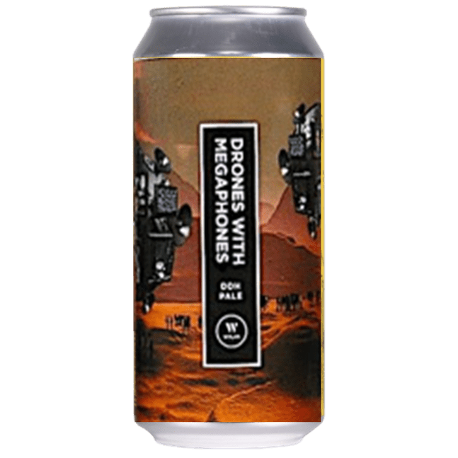 Wylam Drones With Megaphones DDH Pale Ale 440ml (5.5%)