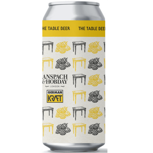 Anspach & Hobday x German Kraft Collab The Table Beer 440ml (3%)