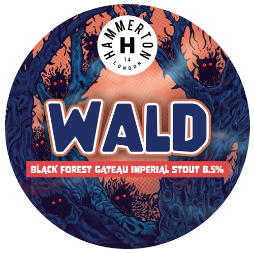 Hammerton WALD Imperial Black Forest Gateau Stout 440ml (8.5%)