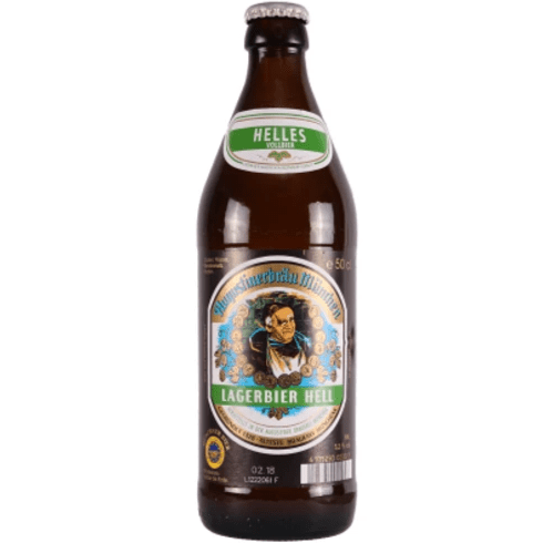 Augustiner Hell , Helles Lager 500ml (5.2%)