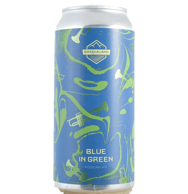 Basqueland Blue In Green IPA 440ml (5.5%)