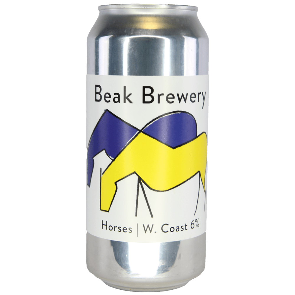 Beak Brewery Horses Rye West Coast IPA 440ml (6%)