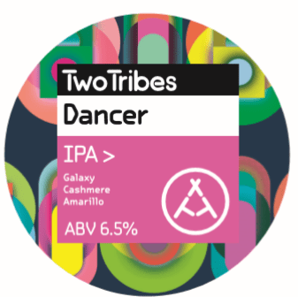 Two Tribes Dancer Galaxy + Cashmere + Amarillo IPA 440ml (6.5%)