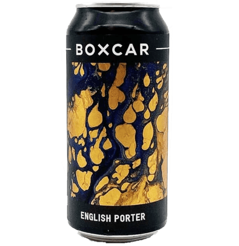 Boxcar English Porter 440ml (6%) - indiebeer