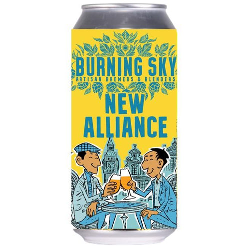Burning Sky New Alliance Anglo-Belgian Pale Ale 440ml (4.5%) - indiebeer