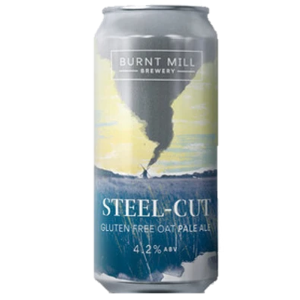 Burnt Mill Steel Cut Gluten Free Oat Pale Ale 440ml (4.5%)