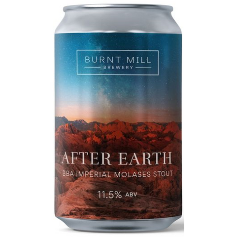 Burnt Mill After Earth Barrel Aged Imperial Stout 330ml (11.5%)