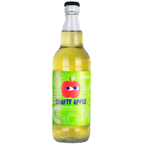 Crafty Apple Medium Cider 500ml (4.5%)