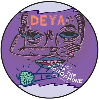 DEYA Invoice Me For The Microphone IPA 500ml (6.5%)