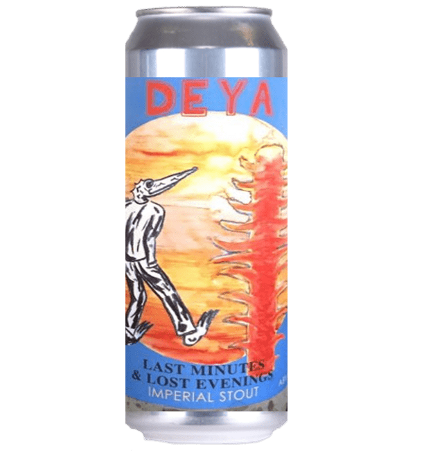 DEYA Last Minutes & Lost Evenings Imperial Stout 440ml (8%)- 1 can limit