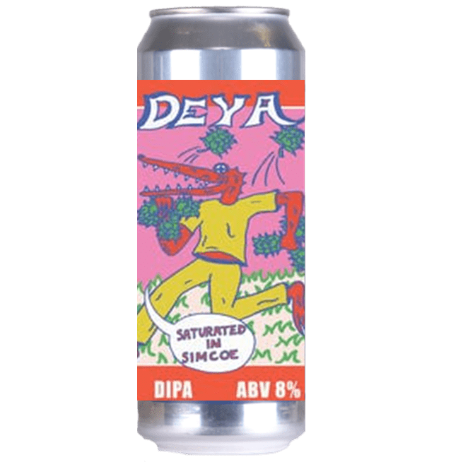 Deya Saturated In Simcoe DIPA 440ml (8%)