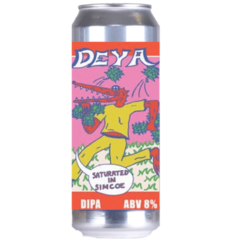 DEYA Saturated In Simcoe DIPA 500ml (8%)