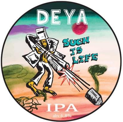 DEYA Such Is Life West Coast Pale IPA 500ml (6.8%)