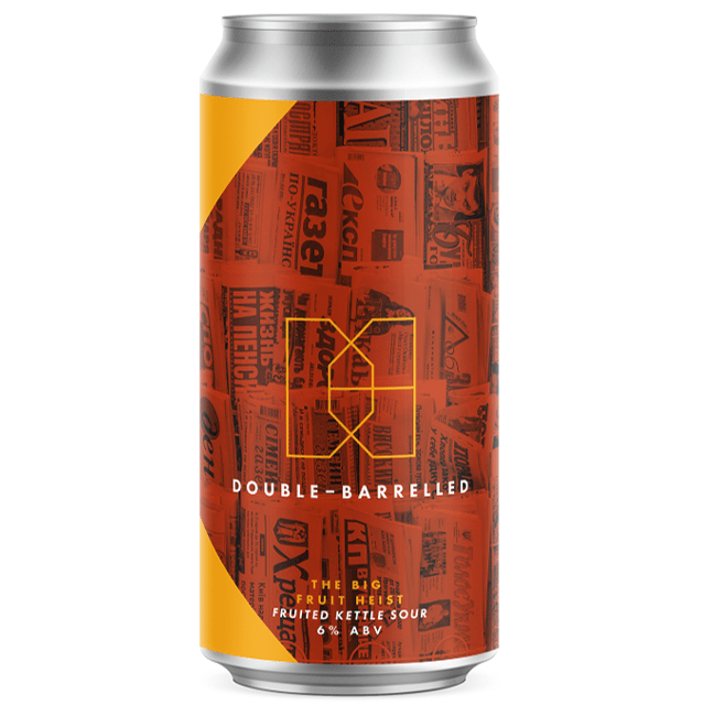 Double Barrelled The Big Fruit Heist Fruited Kettle Sour 440ml (6%)