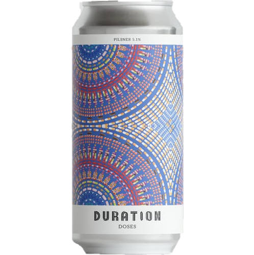 Duration Doses Pilsner 440ml (5.1%)