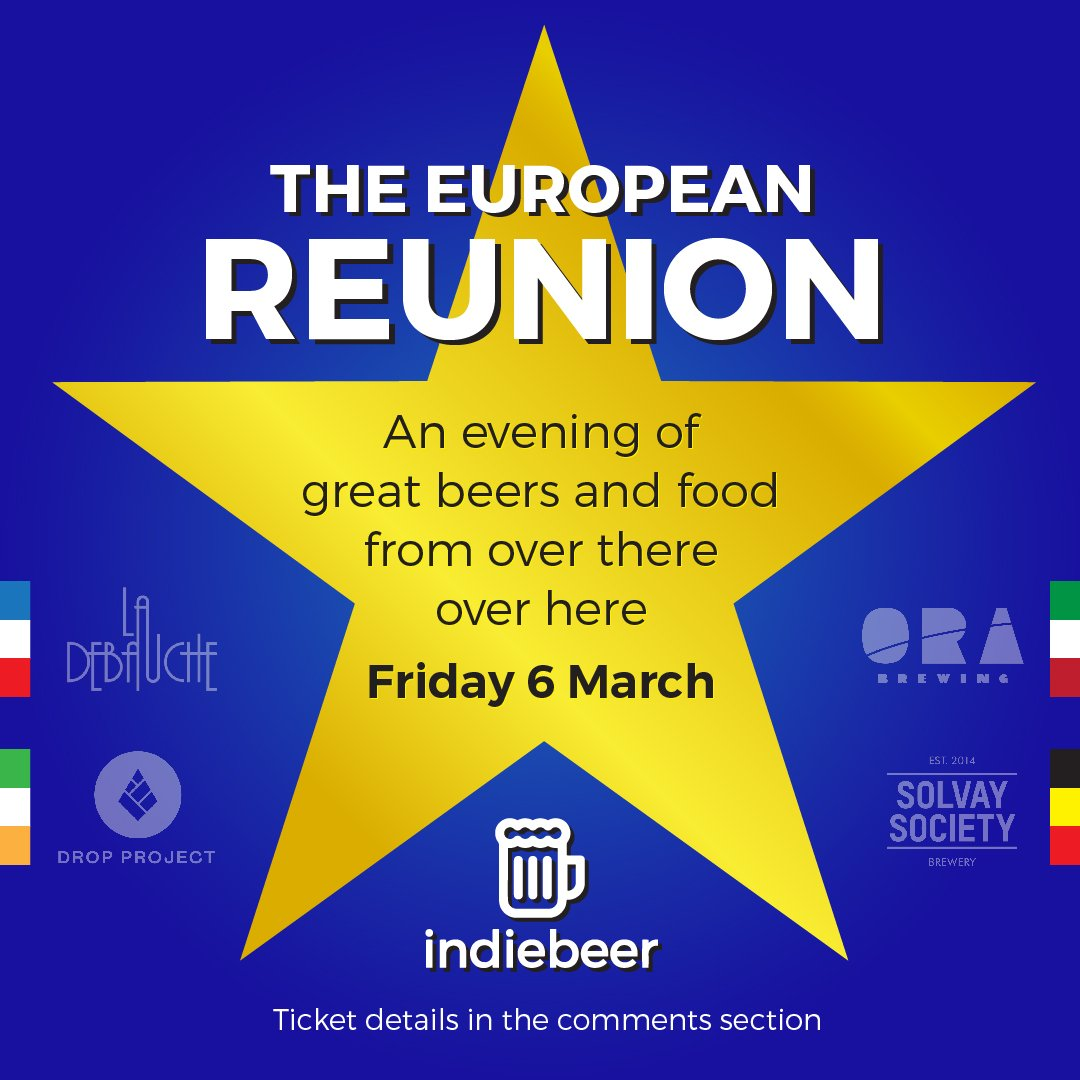 Event Ticket - The European Reunion