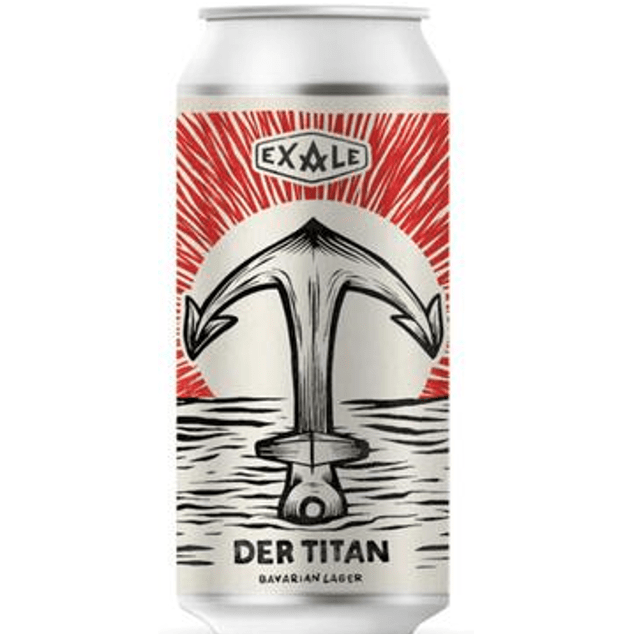 Exale Brewing Der Titan Unfiltered lager 440ml (4.8%)