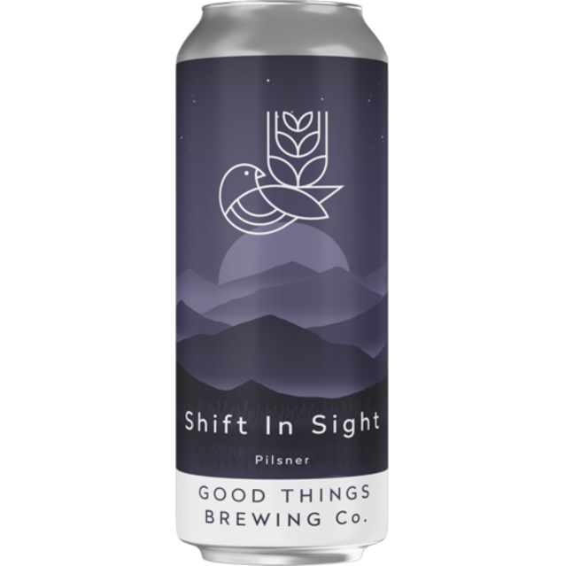 Good Things Brewing Co Shift in Sight Pilsner 440ml (5%)