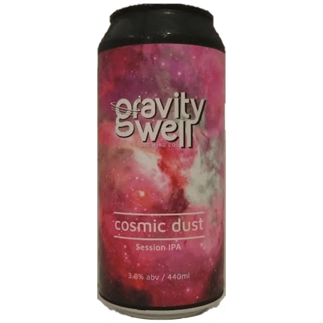 Gravity Well Brewing Co Cosmic Dust Session IPA 440ml (3.8%)