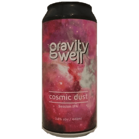 Gravity Well Brewing Co Cosmic Dust Session IPA 440ml (3.8%) - indiebeer