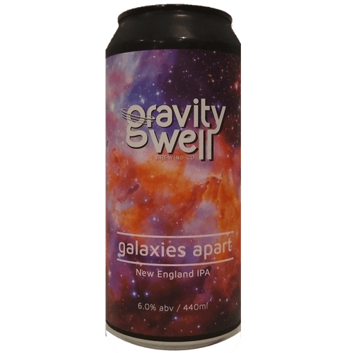 Gravity Well Brewing Co Galaxies Apart IPA 440ml (6.0%)