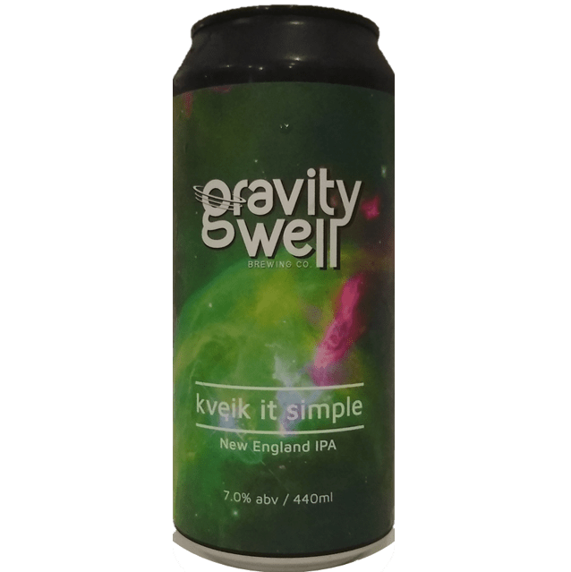 Gravity Well Brewing Co Kviek It Simple IPA 440ml (7.0%)