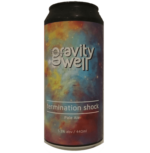 Gravity Well Brewing Co Termination Shock Pale Ale 440ml (5.3%) - indiebeer