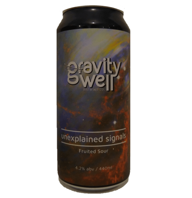 Gravity Well Brewing Co Unexplained Signals Fruited Sour 440ml (4.2%)