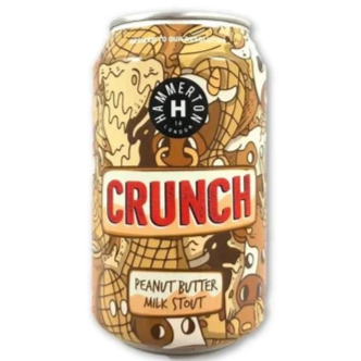 Hammerton Crunch Peanut Butter Milk Stout 330ml (5.4%)