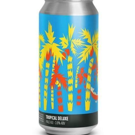 Howling Hops Tropical Deluxe Pale Ale 400ml (3.8%) - indiebeer