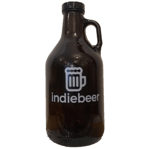 indiebeer 1 litre Glass Growler