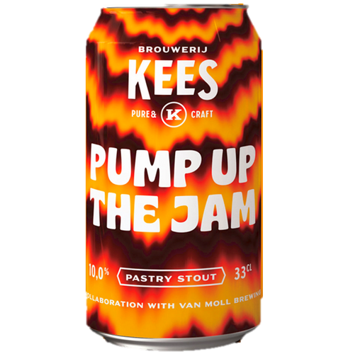 Brouwerij Kees Pump Up the Jam Imperial Stout 330ml (10%)