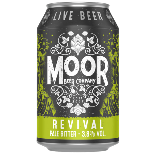 Moor Revival Pale Bitter 330ml (3.8%) - indiebeer