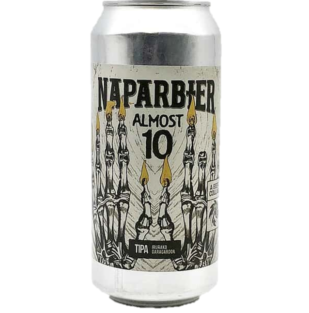 Naparbier x Sand City Brewing Co. Collab - Almost 10 Triple IPA 440ml (9.7%)