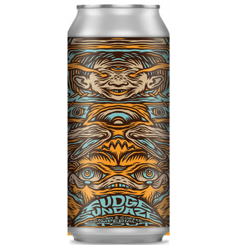 Northern Monk x Dancing Knome Collab Patrons Project 24.02: Fudge Sundaze - Cacao & Coffee Fudge Sundae Imperial Stout 440ml (12%) - indiebeer