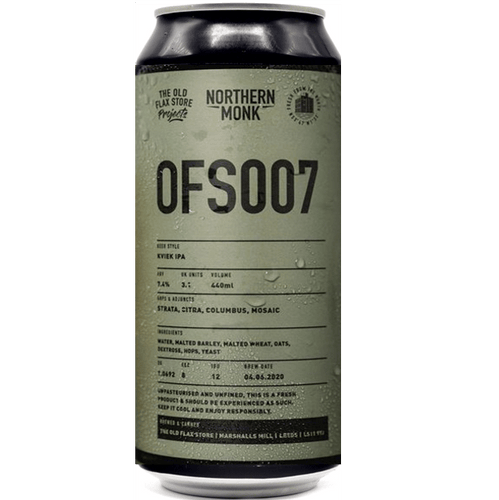 Northern Monk OFS007 IPA 440ml (7.4%)
