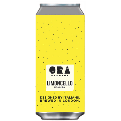 ORA Brewing Limoncello Lemon IPA 440ml (6%) - indiebeer