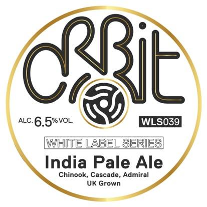 Orbit India Pale Ale Chinook, Cascade, Admiral 330ml (6.5%)