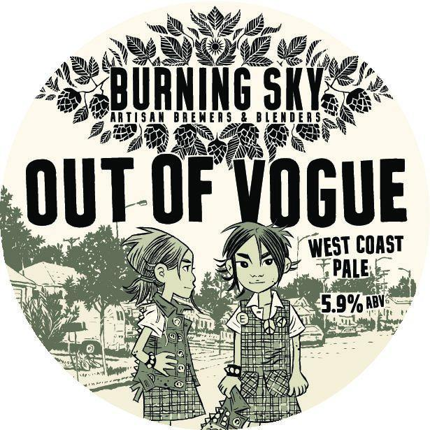 Burning Sky Out Of Vogue West Coast Pale Ale 440ml (5.9%)