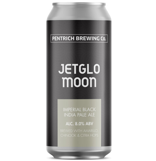 Pentrich Brewing Co Jetglo Moon Imperial Black IPA 440ml (8%)