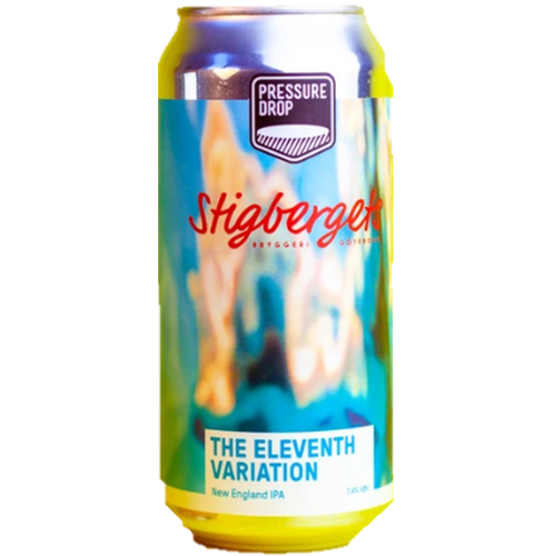 Pressure Drop x Stigbergets collab - The Eleventh Variation NEIPA 440ml (7.2%)