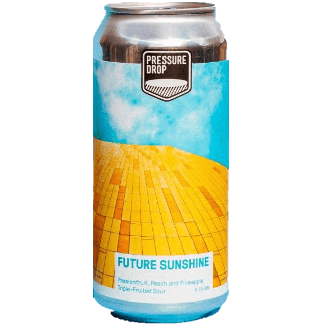 Pressure Drop Future Sunshine Peach, Pineapple & Passionfruit Sour 440ml (6.5%)