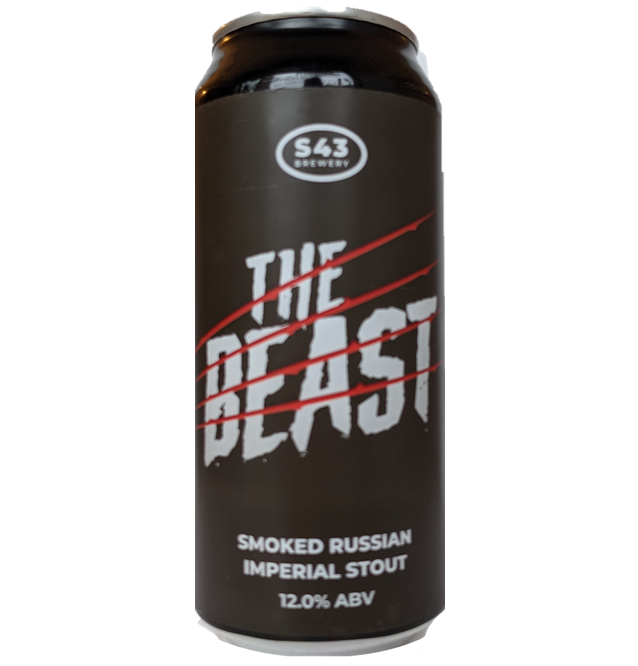 S43 The Beast Smoked Russian Imperial Stout 440ml (12%)