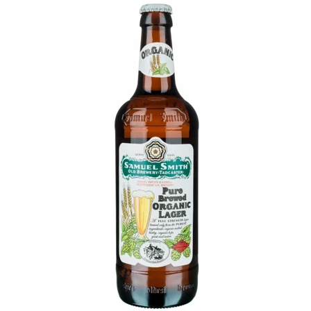 Sam Smiths Organic Lager 355ml (5%)