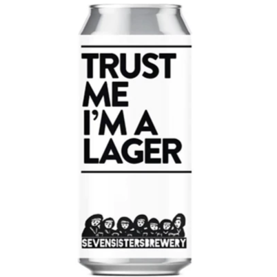 Seven Sisters Trust Me I'm a Lager 440ml (4%)
